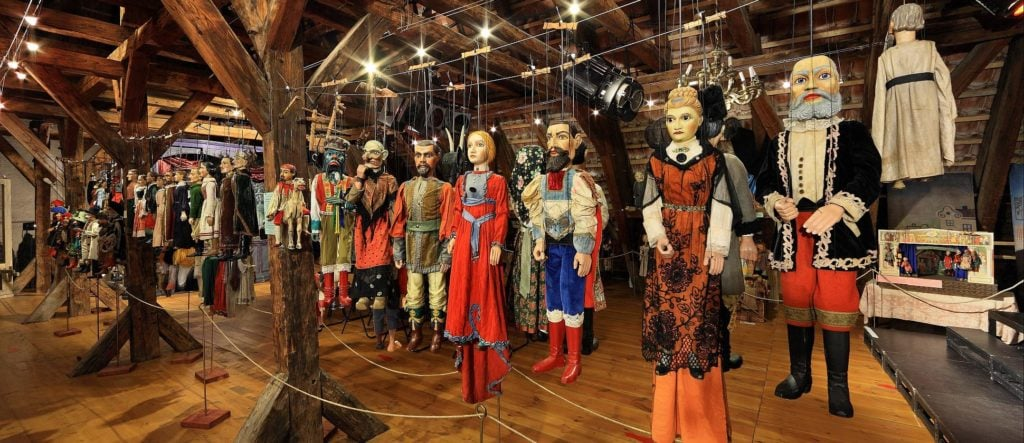 National Marionette Theatre in Prague
