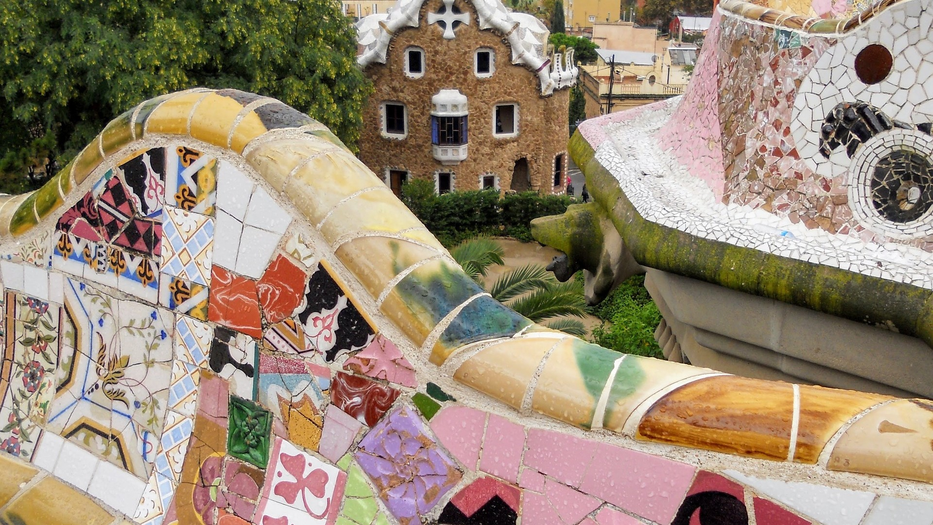 Park Guell, student trip to Barcelona