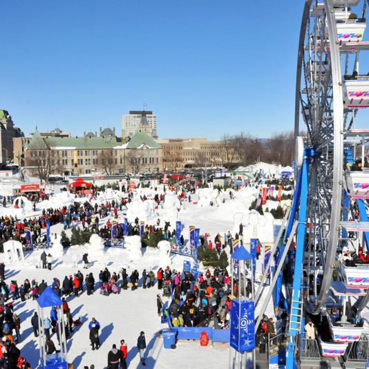 Quebec winter carnaval school trip
