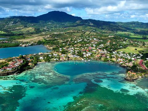 CARIBBEAN-Martinique-Le-Francois-