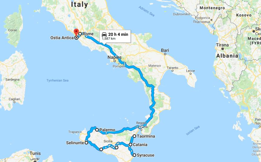 Sicily & Rome