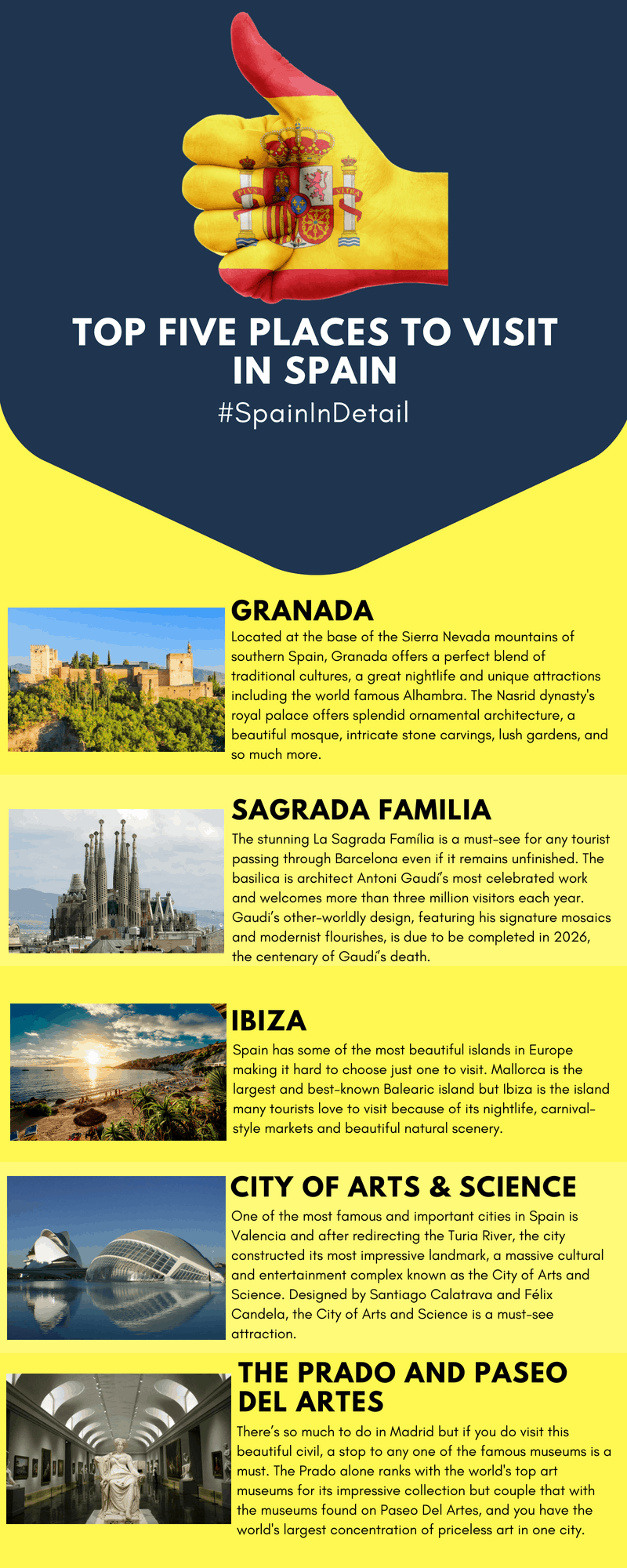 Road To The World Cup Top 5 Places To Visit In Spain