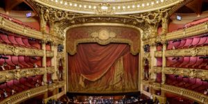A Ghost at the Garnier Opera House of Paris?