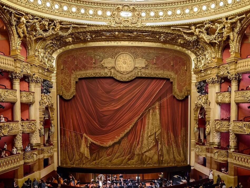 Garnier opera house,