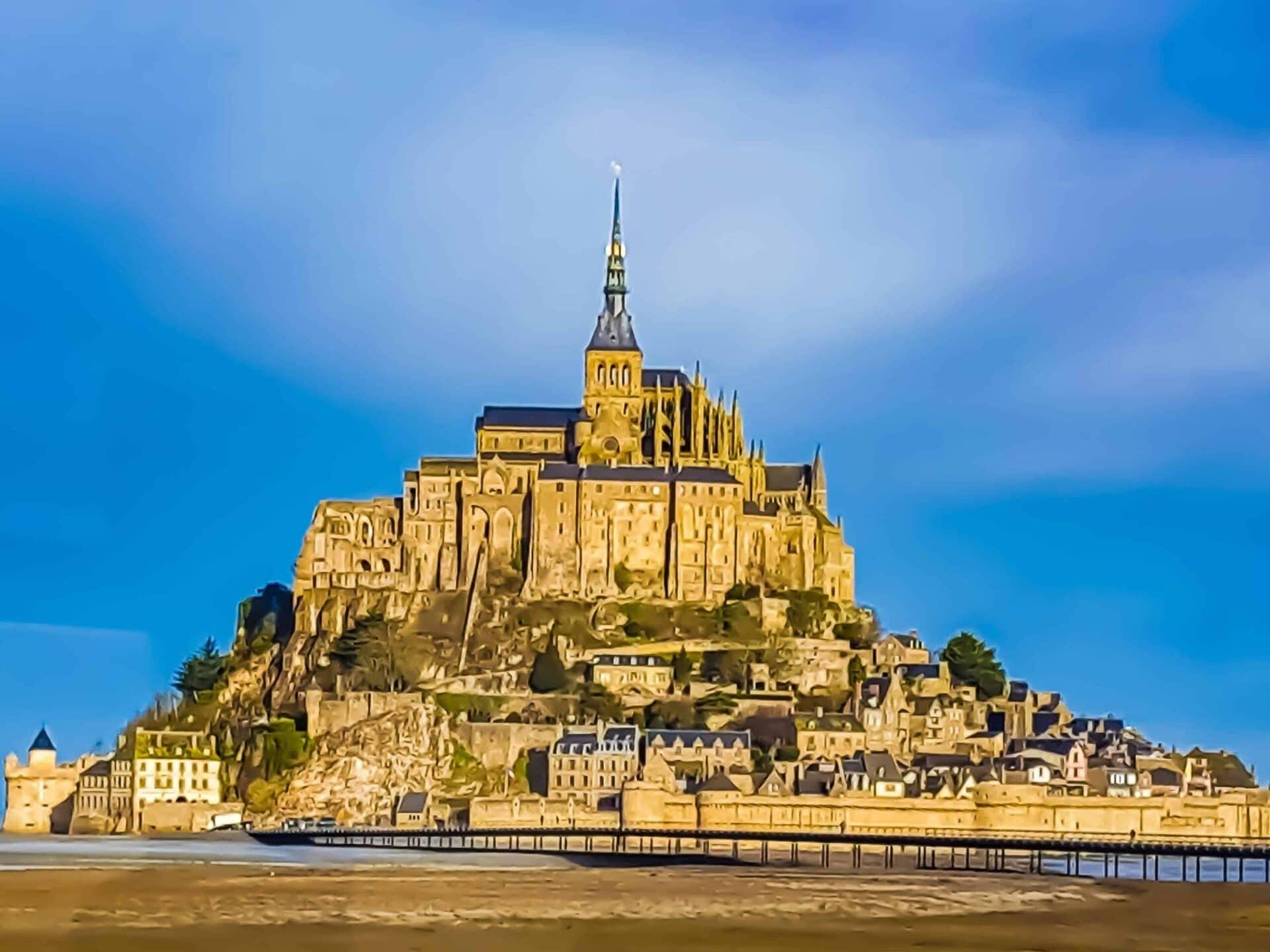 France, Mont Saint-Michel